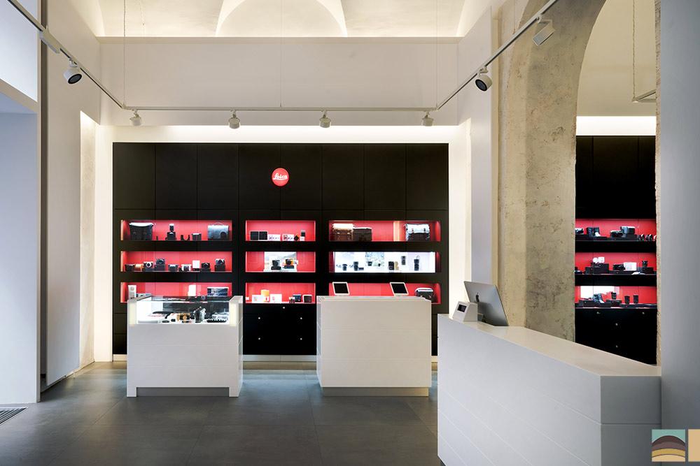 Rénovation boutique Leica - Rome 1