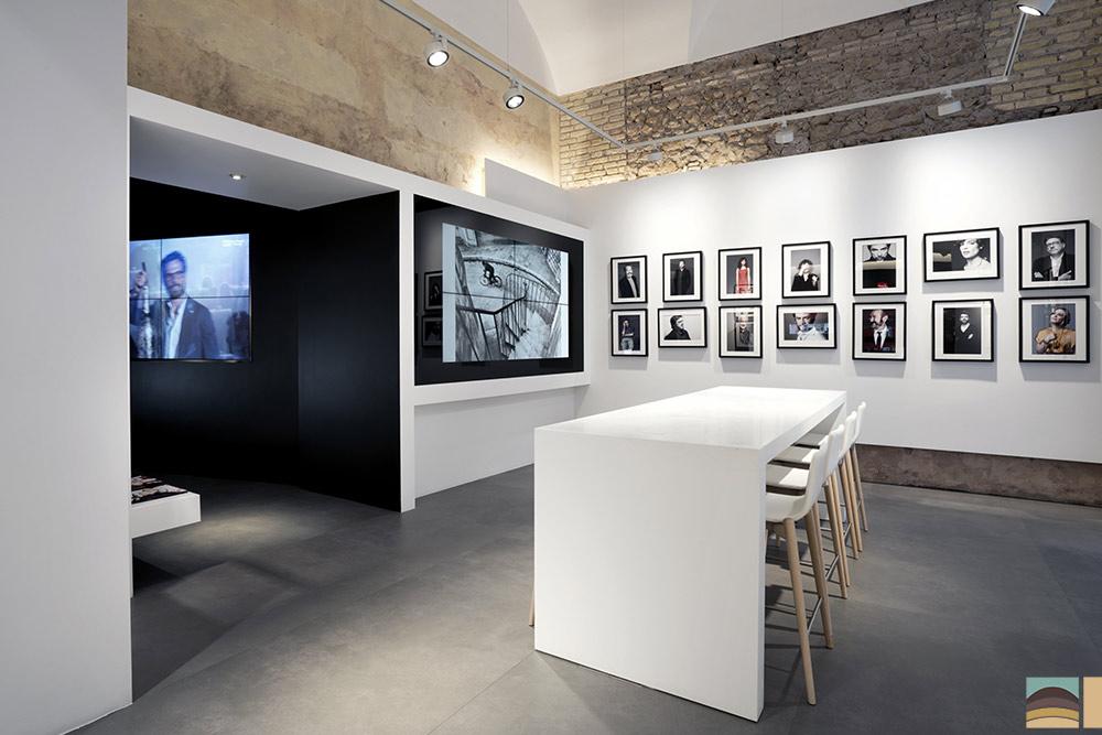 Rénovation boutique Leica - Rome 2