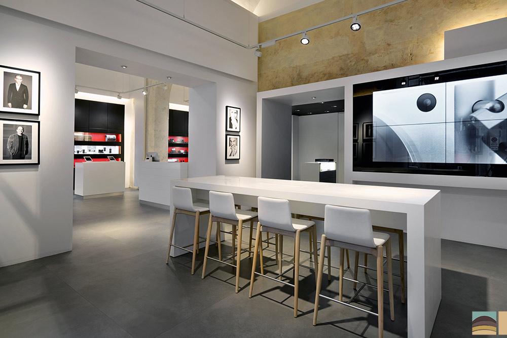 Rénovation boutique Leica - Rome 3