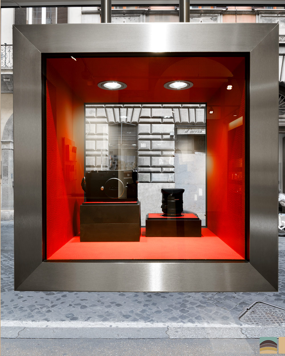 Rénovation boutique Leica - Rome 5
