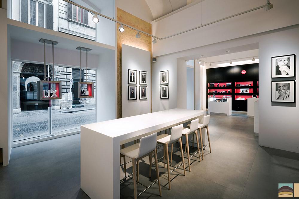Rénovation boutique Leica - Rome 7