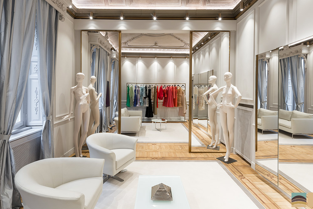 Retail renovation - Curiel, Milan 1