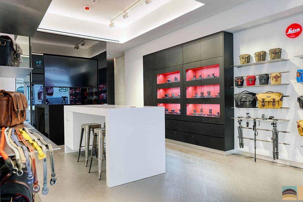 Rénovation boutique Leica - Londres 6