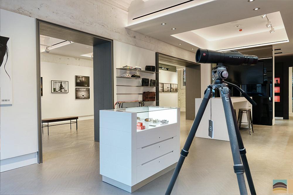 Rénovation boutique Leica - Londres 1