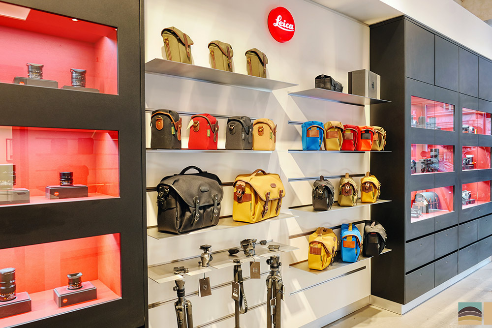 Rénovation boutique Leica - Londres 2