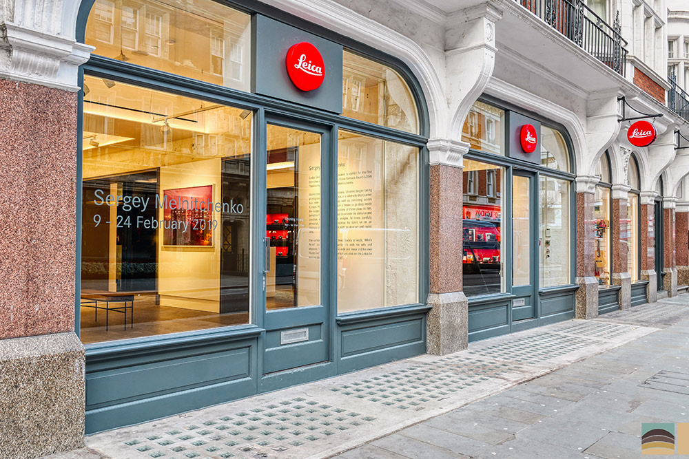 Ristrutturazione negozio Leica - Londra 4