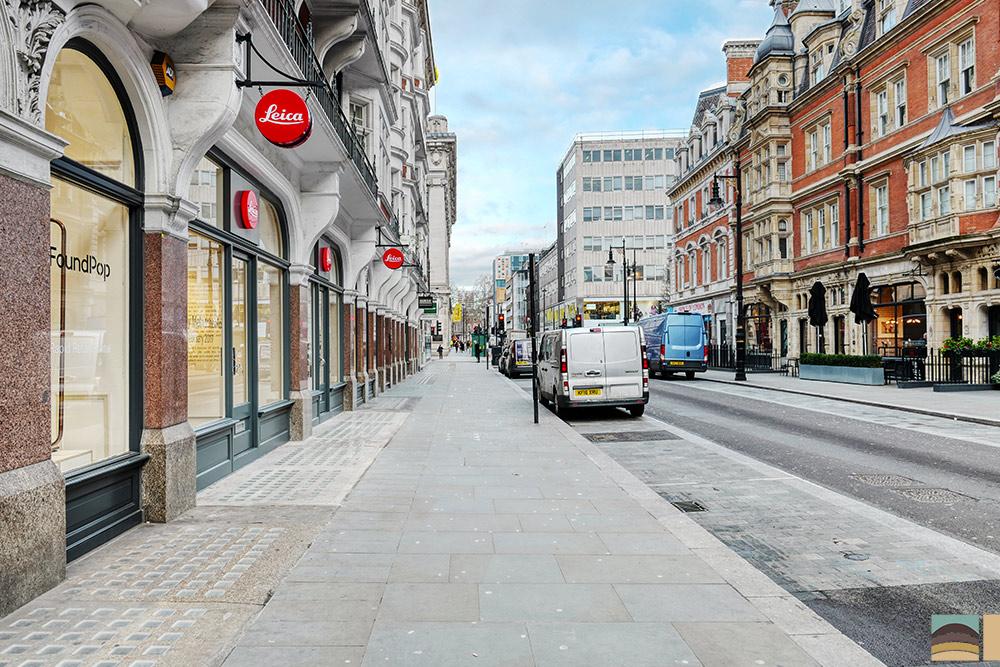 Ristrutturazione negozio Leica - Londra 5
